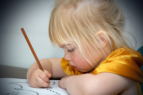 Child Drawing Image