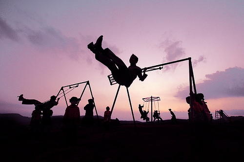 Sunset Swing Image